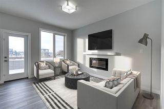 Photo 4: 17717 13 Avenue in Edmonton: Zone 56 House Half Duplex for sale : MLS®# E4194331