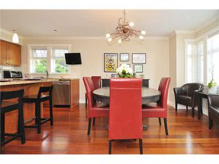 Photo 4: 4481 W 9TH Avenue in Vancouver: Point Grey Townhouse for sale (Vancouver West)  : MLS®# V957147