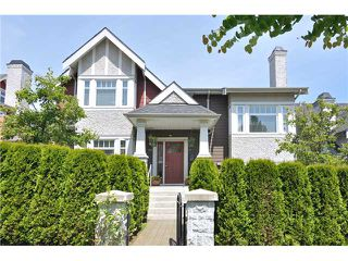 Photo 1: 4481 W 9TH Avenue in Vancouver: Point Grey Townhouse for sale (Vancouver West)  : MLS®# V957147