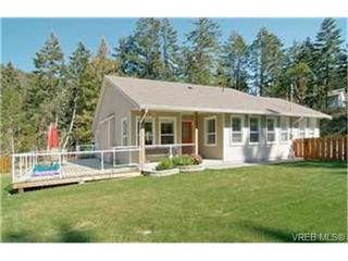 Photo 1: 689 Seedtree Road in SOOKE: Sk East Sooke Single Family Detached for sale (Sooke)  : MLS®# 235618
