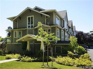 Photo 1: 1 2918 Shelbourne Street in VICTORIA: Vi Oaklands Townhouse for sale (Victoria)  : MLS®# 341018