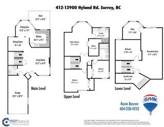 Photo 20: 412 13900 HYLAND ROAD in Surrey: East Newton Townhouse for sale : MLS®# R2112905