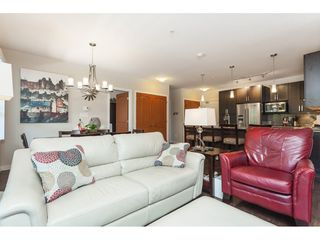 "Photo 5: 112 6480 194 Street in Surrey: Clayton Condo for sale in ""WATERSTONE - ESPLANADE"" (Cloverdale)  : MLS®# R2391477"