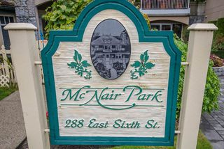 """Photo 2: 314 288 E 6TH Street in North Vancouver: Lower Lonsdale Condo for sale in """"McNair Park"""" : MLS®# R2445091"""