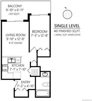 Photo 31: 1107 930 Yates St in Victoria: Vi Downtown Condo Apartment for sale : MLS®# 843419