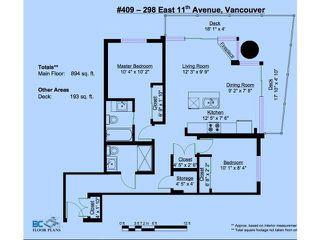 Photo 16: 409 298 E 11TH AVENUE in Vancouver: Mount Pleasant VE Condo for sale (Vancouver East)  : MLS®# R2053656