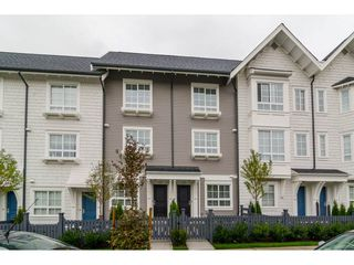 Photo 1: 15 8476 207A STREET in Langley: Willoughby Heights Townhouse for sale : MLS®# R2114834