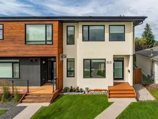 Photo 1: 35B MONCTON Road NE in Calgary: Winston Heights/Mountview Semi Detached for sale : MLS®# A1024659