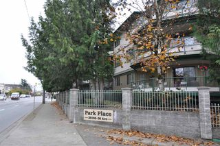 """Photo 1: 103 20140 56 Avenue in Langley: Langley City Condo for sale in """"Park Place"""" : MLS®# R2515065"""