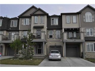 Main Photo: 64 WINDSTONE Green SW: Airdrie Townhouse for sale : MLS®# C3629867