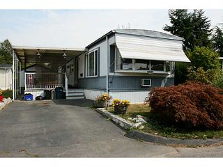 Photo 1: # 228 1840 160 ST in Surrey: King George Corridor Manufactured Home for sale (South Surrey White Rock)  : MLS®# F1449272