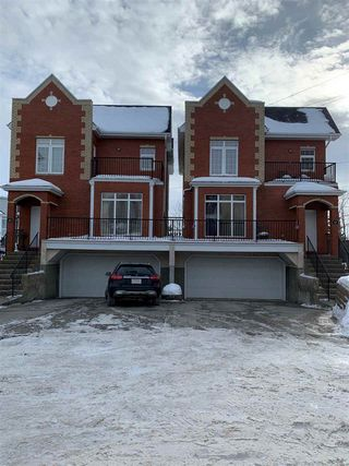 Photo 1: 25 8403 164 Avenue in Edmonton: Zone 28 Townhouse for sale : MLS®# E4187065