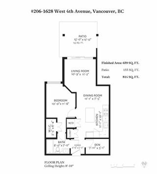 "Photo 33: 206 1628 W 4TH Avenue in Vancouver: Fairview VW Condo for sale in ""Radius"" (Vancouver West)  : MLS®# R2470236"