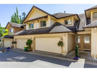 "Photo 1: 61 20350 68 Avenue in Langley: Willoughby Heights Townhouse for sale in ""SUNRIDGE"" : MLS®# R2478175"