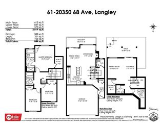 "Photo 40: 61 20350 68 Avenue in Langley: Willoughby Heights Townhouse for sale in ""SUNRIDGE"" : MLS®# R2478175"