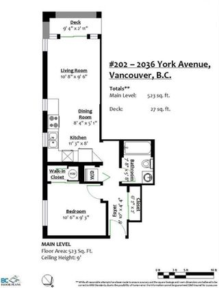 "Photo 14: 202 2036 YORK Avenue in Vancouver: Kitsilano Condo for sale in ""THE CHARLESTON"" (Vancouver West)  : MLS®# R2527836"