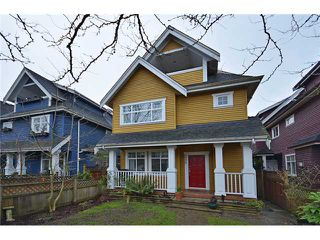 """Photo 1: 1726 E 7TH Avenue in Vancouver: Grandview VE House 1/2 Duplex for sale in """"Commercial Drive"""" (Vancouver East)  : MLS®# V938494"""