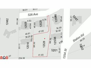 Photo 3: 12528 52A Avenue in Surrey: Panorama Ridge Land for sale : MLS®# F1223891