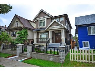 Photo 1: 536 E 47TH AV in Vancouver: Fraser VE House for sale (Vancouver East)  : MLS®# V1024771