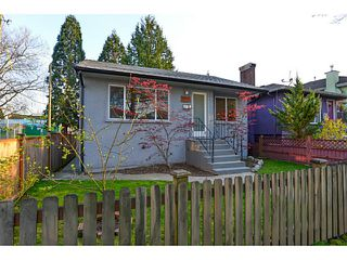 Main Photo: 1976 E 37TH AV in Vancouver: Victoria VE House for sale (Vancouver East)  : MLS®# V1115171