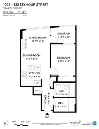 """Photo 21: 1002 822 SEYMOUR Street in Vancouver: Downtown VW Condo for sale in """"L'Aria"""" (Vancouver West)  : MLS®# R2507904"""