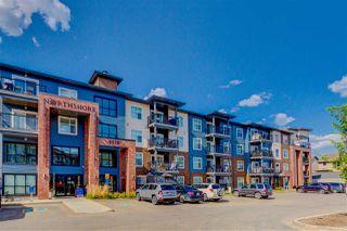Main Photo: 419 5510 SCHONSEE Drive in Edmonton: Zone 28 Condo for sale : MLS®# E4225543