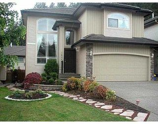 Photo 1: 1696 SUGARPINE CT in Coquitlam: Westwood Plateau House for sale : MLS®# V538470