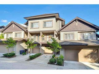 "Photo 1: 18 6238 192ND Street in Surrey: Cloverdale BC Townhouse for sale in ""BAKERVIEW TERRACE"" (Cloverdale)  : MLS®# F1420554"