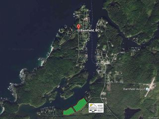 Main Photo: LT 14 S Bamfield Rd in : PA Bamfield Land for sale (Port Alberni)  : MLS®# 746697