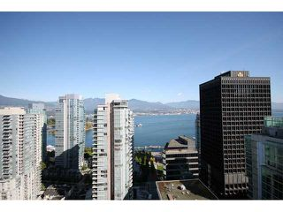 Photo 1: # 2801 1188 W PENDER ST in Vancouver: Coal Harbour Condo for sale ()  : MLS®# V858468