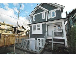 Main Photo: 755 E 11TH AV in Vancouver: Mount Pleasant VE House 1/2 Duplex for sale (Vancouver East)  : MLS®# V1027526