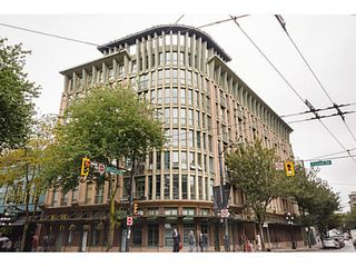 Photo 1: # 407 1 E CORDOVA ST in Vancouver: Downtown VE Condo for sale (Vancouver East)  : MLS®# V1086098