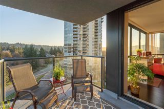 "Photo 1: 703 288 UNGLESS Way in Port Moody: North Shore Pt Moody Condo for sale in ""THE CRESCENDO"" : MLS®# R2457407"