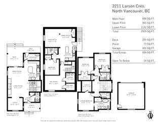 Photo 21: 2211 LARSON Crescent in North Vancouver: Central Lonsdale House for sale : MLS®# R2468206