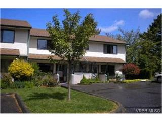Photo 1:  in VICTORIA: SW Glanford Row/Townhouse for sale (Saanich West)  : MLS®# 396682