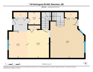 Photo 23: 134 HEMINGWAY Road in Edmonton: Zone 58 House Half Duplex for sale : MLS®# E4168873