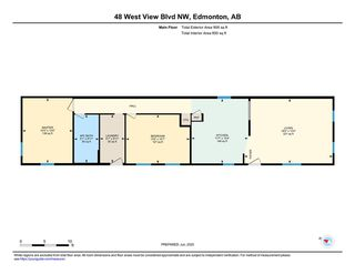 Photo 27: 48 Westview Boulevard in Edmonton: Zone 59 Mobile for sale : MLS®# E4202678