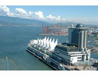 "Photo 1: 2704 1077 W CORDOVA ST in Vancouver: Coal Harbour Condo for sale in ""SHAW TOWER"" (Vancouver West)  : MLS®# V537380"