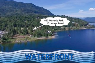 Main Photo: 663 Waverly Park Frontage Road in Sorrento, BC: Land Only for sale (Sorrento)  : MLS®# 10202131