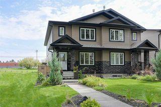 Photo 1: 10721 122 Street in Edmonton: Zone 07 House Half Duplex for sale : MLS®# E4172705