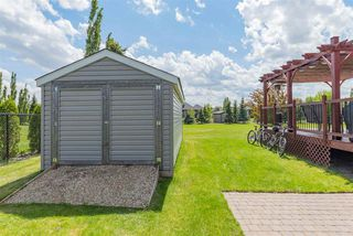 Photo 46: 282 ESTATE WAY Crescent: Rural Sturgeon County House for sale : MLS®# E4200974