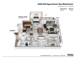 """Photo 21: 404 833 AGNES Street in New Westminster: Downtown NW Condo for sale in """"THE NEWS"""" : MLS®# R2487078"""