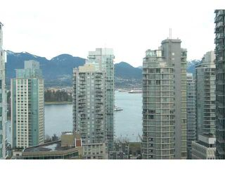Main Photo: 2001 1239 W GEORGIA Street in Vancouver: Coal Harbour Condo for sale (Vancouver West)  : MLS®# V924962