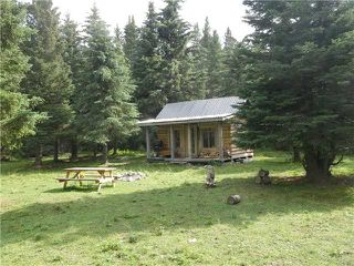 Photo 1: 2 miles west of Dartique Hall in COCHRANE: Rural Rocky View MD Rural Land for sale : MLS®# C3545361
