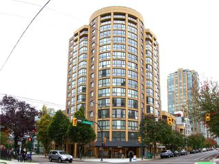 Main Photo: # 1001 488 HELMCKEN ST in Vancouver: Yaletown Condo for sale (Vancouver West)  : MLS®# V1039770
