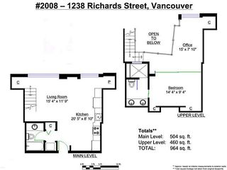 Photo 20: # 2008 1238 RICHARDS ST in Vancouver: Yaletown Condo for sale (Vancouver West)  : MLS®# V1049167