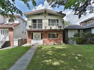 Photo 1: 575 E 46TH AV in Vancouver: Fraser VE House for sale (Vancouver East)  : MLS®# V1080500