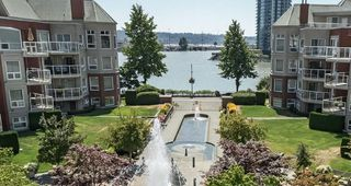Main Photo: 411 1240 QUAYSIDE DRIVE in New Westminster: Quay Condo for sale : MLS®# R2295103