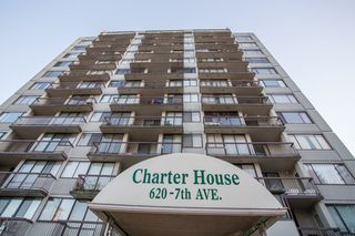 "Photo 1: 1205 620 SEVENTH Avenue in New Westminster: Uptown NW Condo for sale in ""CHARTER HOUSE"" : MLS®# R2426213"
