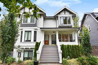 "Photo 1: 2335 W 10TH Avenue in Vancouver: Kitsilano Townhouse for sale in ""PARK VIEW"" (Vancouver West)  : MLS®# R2428714"